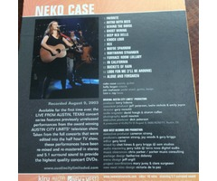 Neko Case - Live from Austin DVD
