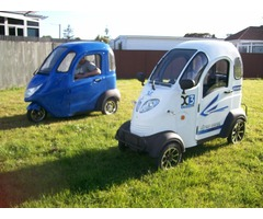 Enclosed Mobility Scooter includes freight