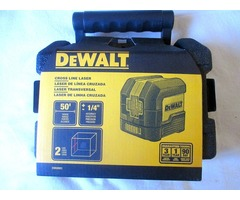 NEW DEWALT DW08801 LASER LEVEL