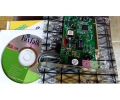Speedcom + 56K Voice/Data/Fax v.92 Modem