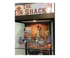 The Tin Shack - Retro Tin Toys, Signs & More
