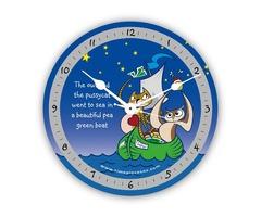 Novelty Clocks - Owl and the Pussycat