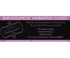 Burlesquercise NZ Ashburton Classes