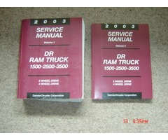 ram service manuals