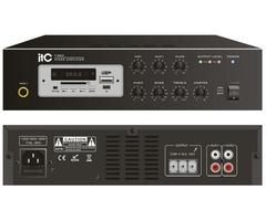 60 watt Public Address Amplifier with Bluetooth