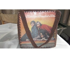 """MONKEES"" PopArt LP Record Shoulder BAG"