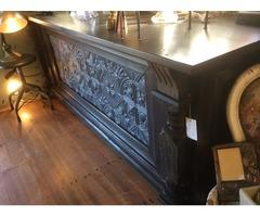 Antique Detailed Room Divider/Bar Divider