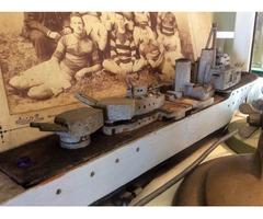 Antique Model Battleship