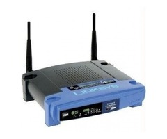 Networking Components-Linksys Wireless-G Broadband Router