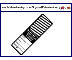 ELECTRICAL TEST TAGS X 500 - BLACK