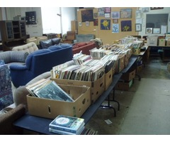RECORDS, CDs, TAPES AND DVDs GALORE - AT ReStore