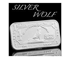 1g .999 pure silver bar