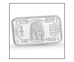 1g .999 fine silver bar