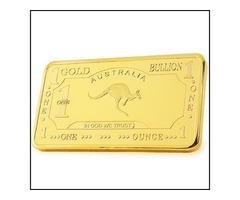Rear Roo 100 mills .999 fine gold