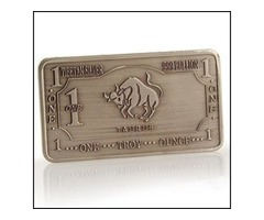 1 Troy Ounce .999 Tibetian Silver Taurus
