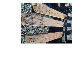 Hardwood Bridge beams 3.7m 200x150