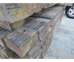 Hardwood Jarrah Railway Sleepers 2.2m