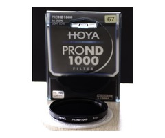 Hoya PRO ND 67mm ND1000 (3.0) 10 Stop ND Neutral Density Filter