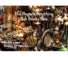 Regent Anything But Books Sale