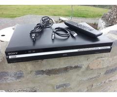 Sony 250gig HDD / DVD Recorder & Player - HDMI