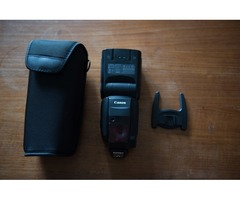 Quick Sale: Canon Speedlite 600EX-RT Flash