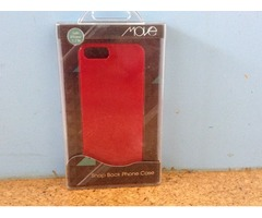 Iphone 5/5s red snap back case