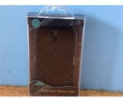 Samsung s4 black snap back case