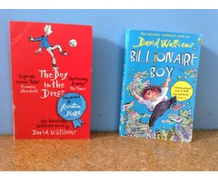 2 books by david walliams