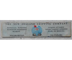 The New Zealand Shipping Co. decimal equivalents chart; mid 1960's.
