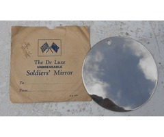 New Zealand world war two 'The Deluxe Unbreakable Soldier's Mirror' c 1942