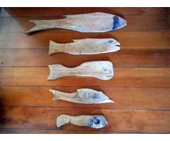 Sculptured Wooden Fish