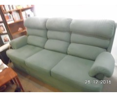 3 SEATER LOUNGE, TEFLON MATERIAL RESISTS WATER