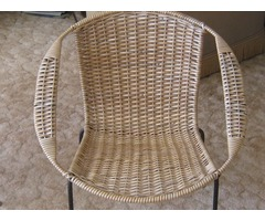 Mid Century Coolie Chairs