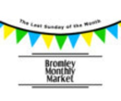 Bromley Monthly Market - 29th February 2017 - 11am - 2pm