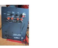 Active Subwoofer Amplifier 180W - Mains - Panel Mount Music Musician DJ Gigs Concert
