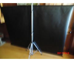 Large projector screen