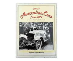 Giltraps' Australian cars from 1879; A History of Cars Built in Australia. Terry and Maree Giltrap