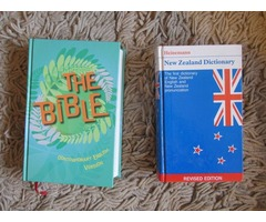 BIBLE  and  DICTIONARY  ...AS   NEW   CONDITION
